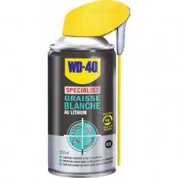 Graisse blanche au lithium - 250 ml - WD-40 Spécialist