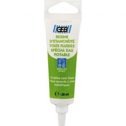 Résine d'étanchéité tous fluides - 20 ml - GEB