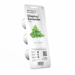 Capsule prête à planter - Coriandre - Click & Grow - Lot de 3 - EMSA