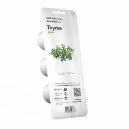Capsule prête à planter - Thym - Click & Grow - Lot de 3 - EMSA