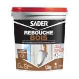 Enduit de rebouchage spécial Bois - 1.5 Kg - SADER