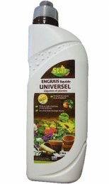 Engrais liquide universel - Bio - 1 L - STAR