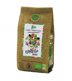 Café Bio moulu - Expresso - 125 Grs - MAISON TAILLEFER