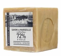 Cube de Savon de Marseille Extra Pur - 500 Grs - LA CORVETTE