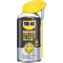 Graisse en spray longue durée - 250 ml - WD-40 Spécialist