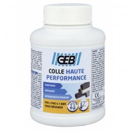 Colle haute performance pour assemblage canalisation en PVC - 250 ml - GEB