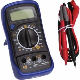 Contrôleur de courant digital automatique - 6 fonctions - Mega-testeur - TIBELEC