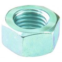 Ecrou hexagonal acier zingué - 12 mm - Lot de 4 - FIX'PRO