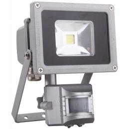 Projecteur LED étanche et inclinable avec détecteur de mouvement - 10 Watts - DHOME