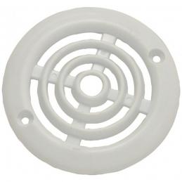 Grille de ventilation en applique pour contre cloison - Plastique - Ronde - 64 mm- DMO