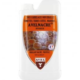 Entretien et protection de tous carrelages - Brillant Nacré AVELNACRE - 1 L - AVEL