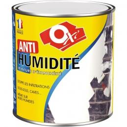 Peinture d'étanchéité - Anti-humidité - Blanc - 2.5 L - OXI