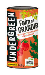 Faim de GRANDIR - Nutriments Petits Légumes et Aromatiques - 600 Grs - UNDERGREEN