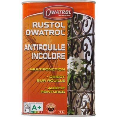 Antirouille multifonction - Additif pour peintures - 1 L - OWATROL