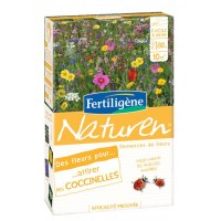Prairie fleurie - Attire coccinelles - 60 gr - Naturen FERTILIGENE