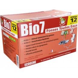 Entretien fosse toutes eaux - 24 doses - Bio 7 - ECOGENE