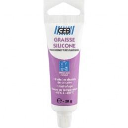 Graisse silicone - Lubrifiant robinetterie - Tube de 20 grs - GEB