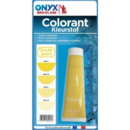 "Colorant universel ""Colortech"" - Oxyde Jaune - 60 ml - ONYX"