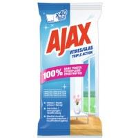 Lingettes vitres - x 40 - AJAX