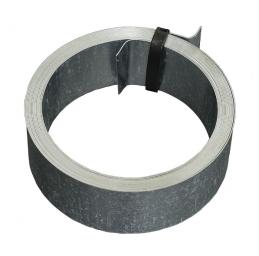Feuillard pour fixation cheminée - 5 M - Acier galvanisé - ERARD