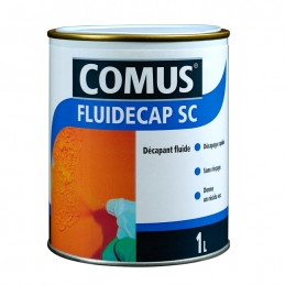 Décapant liquide, pour lasures, vernis et peintures - Fluidecap SC - 1 L - COMUS