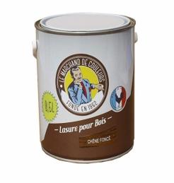 Lasure acrylique pour Bois - Teinte chêne foncé - 0.5 L - ONIP