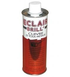 Eclair'brill - Entretien pour cuivres et métaux - 250 mL - LIEM