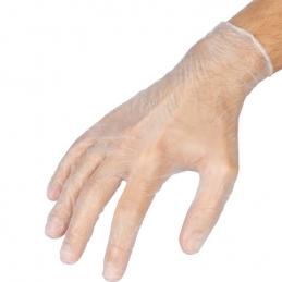 Boîte de 100 gants en vinyle - Usage Unique - XL - Transparent - OUTIBAT