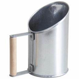 Pelle à pelets en zinc et bois - AUBRY GASPARD