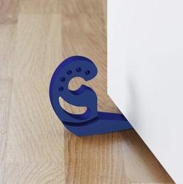 Multi-Stop Arrêt de Porte/Fenêtre - Bleu - 11,2 x 7,7 x 2,5 cm - WENKO