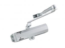 Ferme-porte GR101 - Bras compas - Force 3 - Argent - GROOM