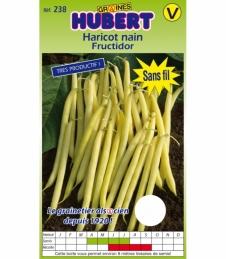 Graines de Haricot Nain Fructidor - 150 Grs - GRAINES HUBERT