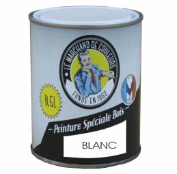 Peinture Spécial Bois - Satinée - Blanc - 0.5 L - ONIP