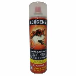 Aérosol insecticide Guêpes, nids de guêpes, frelons - 750 ml - ECOGENE