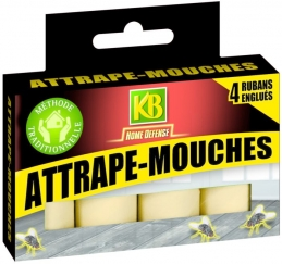 Rubans attrape-mouches - lot de 4 - KB