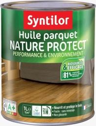 Huile pour parquet - Nature Protect - Incolore - 1 L - SYNTILOR