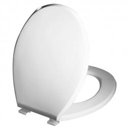 Abattant wc premier - Blanc - Plastique - WIRQUIN