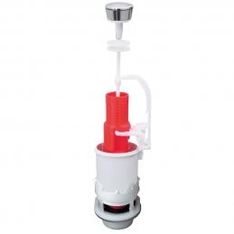 Mécanisme de wc simple poussoir à commande mécanique - MP00 - WIRQUIN