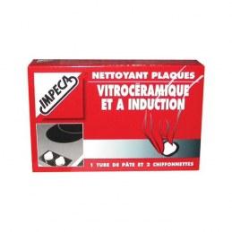 Nettoyant vitrocéramique et induction - En pâte - 50 ml - IMPECA