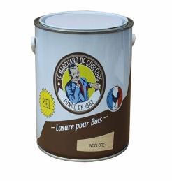 Lasure acrylique pour Bois - Teinte incolore - 2.5 L - ONIP