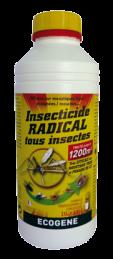 Insecticide radical concentré à diluer tous insectes - 1 L - ECOGENE