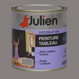 Peinture Tableau - Bois, MDF, Plâtre, Fer - Gris - 500 ml - JULIEN