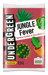 Terreau Cactus et Succulentes - Jungle Fever - 2.5 L - UNDERGREEN