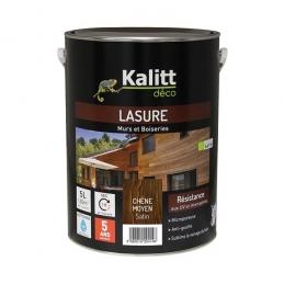 Lasures Les Modernes - Murs et boiseries - Chêne Moyen - 5 L - KALITT