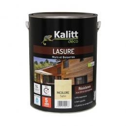 Lasures Les Modernes - Murs et boiseries - Incolore Satin - 5 L - KALITT