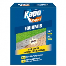 Anti-fourmis en granulés - Action radicale - 400 Grs - KAPO VERT