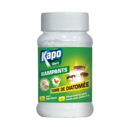 Terre de diatomée - Insectes rampants - 100 Grs - KAPO VERT
