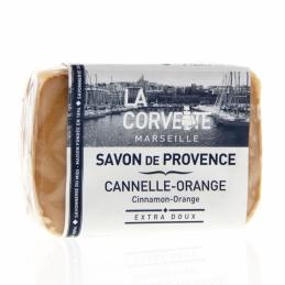 Savon de Provence - Canelle / Orange - 100 Grs - LA CORVETTE