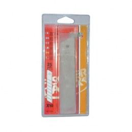 Lame de cutter - lot de 10 - 25 mm - FISCHER DAREX