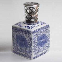 Lampe à parfum - Lampe Encrier Carré Bleu - LAMPE DU PARFUMEUR